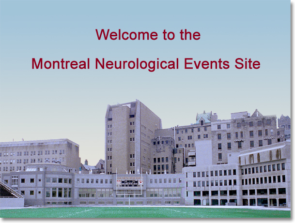 Montreal Neuro Events Home